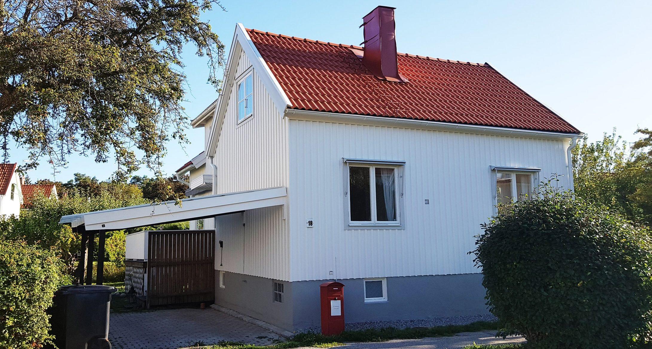 fasadrenovering nacka och täby